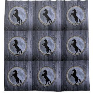 Wild Horse Moon Shower Curtain