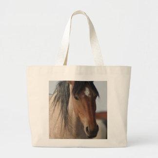 WILD HORSE OF UTAH JUMBO TOTE BAG