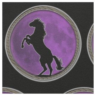 Wild Horse Purple Moon Fabric