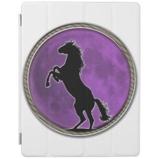 Wild Horse Purple Moon iPad Cover