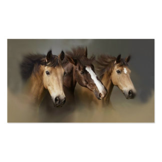 Wild Horse Trio Business Card