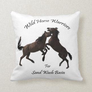 Wild Horse Warriors Cushion