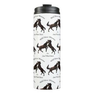 Wild Horse Warriors for Sand Wash Basin Thermal Tumbler