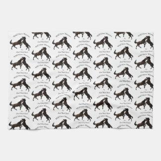 Wild Horse Warriors Tea Towel