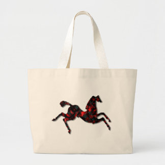Wild Horses #21 Ruby and Ashes Jumbo Tote Bag
