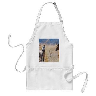 Wild Horses Standard Apron