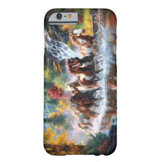 Wild Horses Barely There iPhone 6 Case