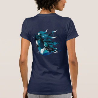 Wild Horses Blue Women's Teeshirt T-Shirt