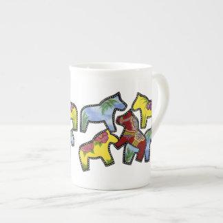 Wild Horses Bone China Mug
