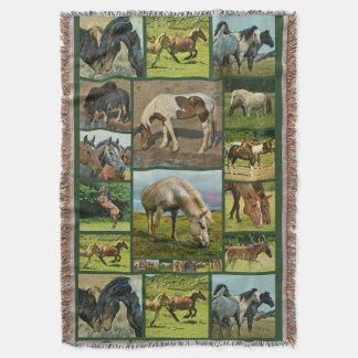 Wild Horses Collage