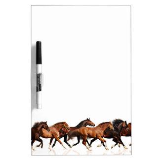 Wild Horses Dry Erase Board