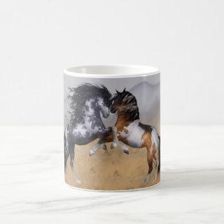 Wild Horses Fantasy Equine Mug
