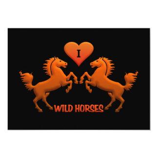 Wild Horses invitation - customize!