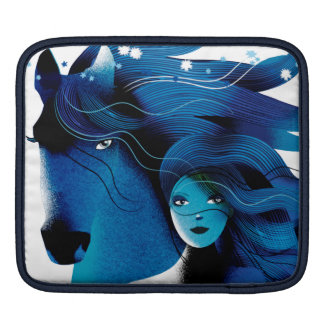 Wild Horses iPad pad Horizontal iPad Sleeve
