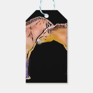 Wild Horses Kissing Gift Tags