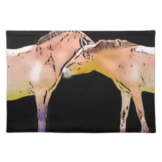 Wild Horses Kissing Placemat