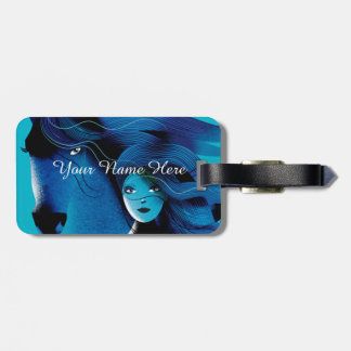 Wild Horses Luggage Tag