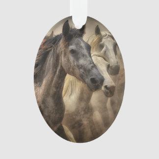 Wild Horses Ornament