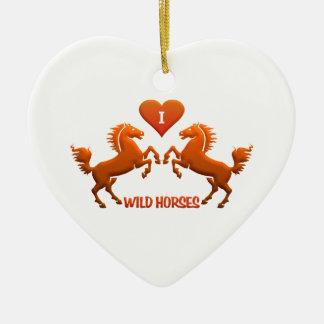Wild Horses ornament - customize!