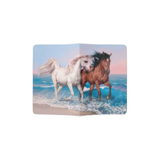 Wild Horses Passport Holder