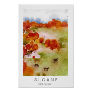 Wild Horses Posters