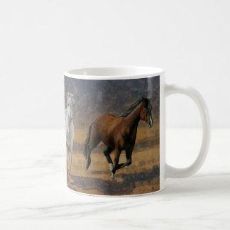 Wild Horses Run Mug