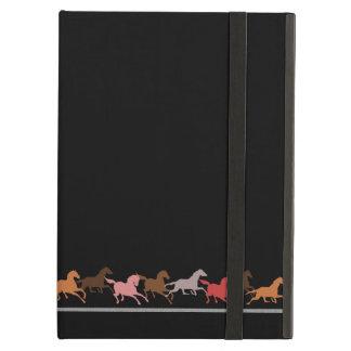 Wild horses running case for iPad air