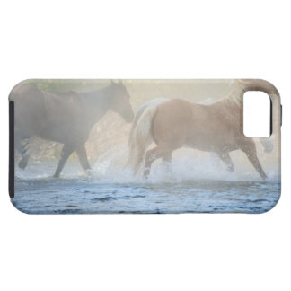 Wild horses running through water case for the iPhone 5
