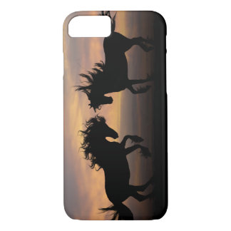 Wild Horses Silhouette iPhone 7 Case