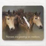 Wild Horses Three Mousepad