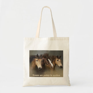 Wild Horses Three Tote Bag