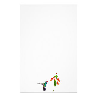 Wild Hummingbird Bird-lover's Art Series Stationery