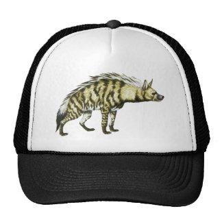 Wild Hyena Animal Illustration Cap