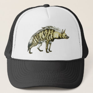 Wild Hyena Animal Illustration Trucker Hat