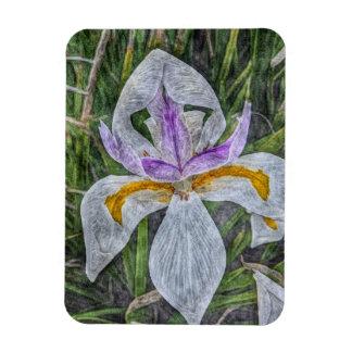 Wild Iris Flexible Magnet