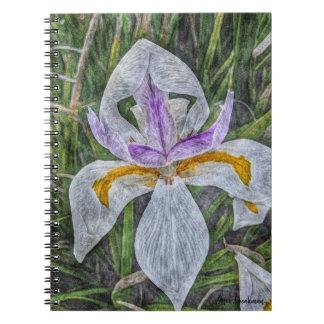 Wild Iris Spiral Notebook