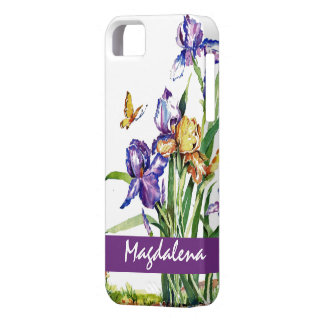 Wild Irises iPhone 5 Cases