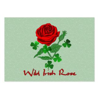 Wild Irish Rose Large Business Cards (Pack Of 100)