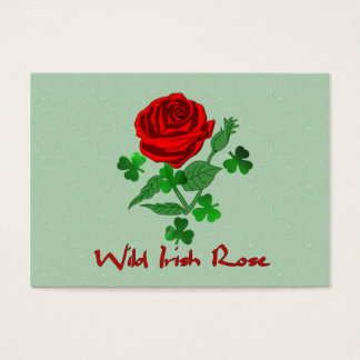 Wild Irish Rose Business Card