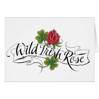 Wild Irish Rose Greeting Cards