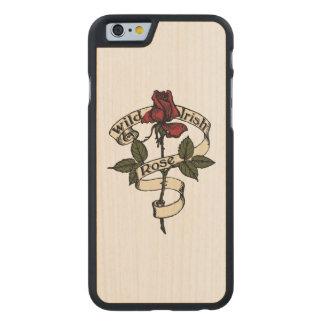 Wild Irish Rose Carved® Maple iPhone 6 Case