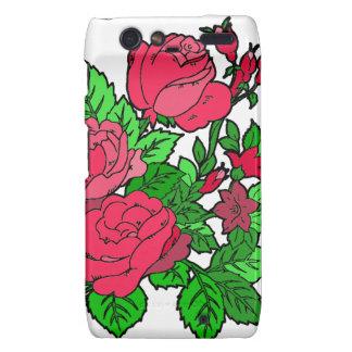 Wild Irish Rose Motorola Droid RAZR Covers