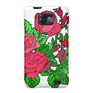 Wild Irish Rose Samsung Galaxy S2 Cases