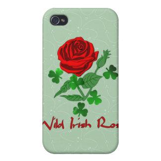 Wild Irish Rose iPhone 4 Case
