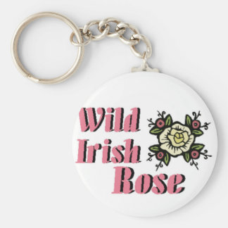 Wild Irish Rose Keychain