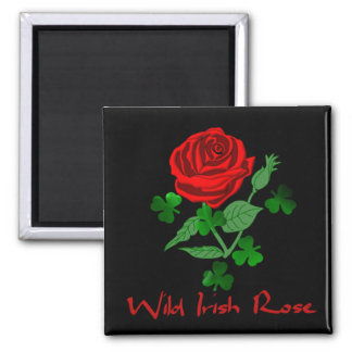 Wild Irish Rose Fridge Magnet
