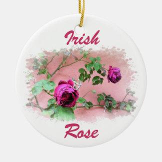 Wild Irish Rose Ornament