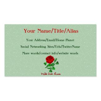 Wild Irish Rose Pack Of Standard Business Cards