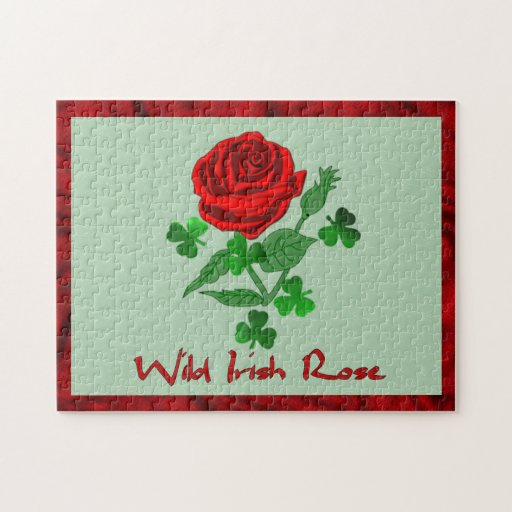 Wild Irish Rose Puzzle