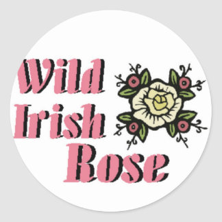 Wild Irish Rose Stickers